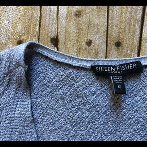 Eileen Fisher Woman 💯% Wool Open Cardigan size 1X